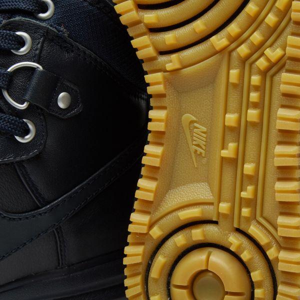 Nike Lunar Force 1 Duckboot Mens Shoes Dark ObsidianGum 805899 400 Online