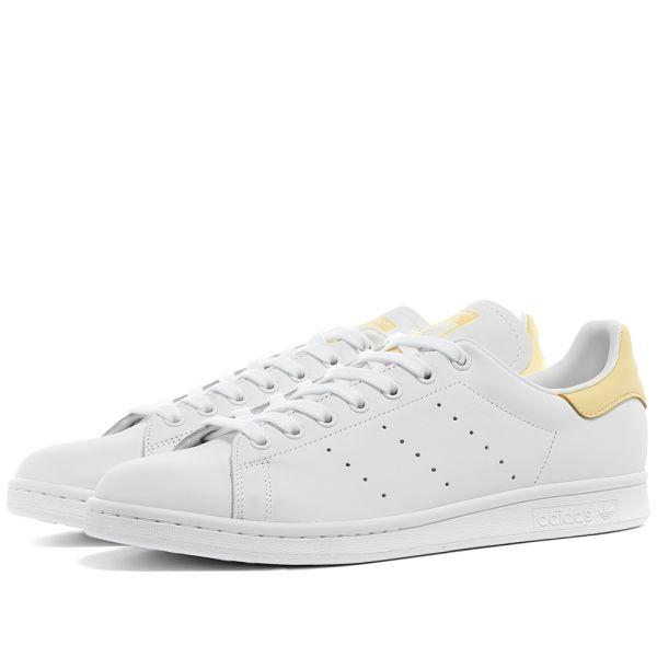 Adidas Stan Smith White \u0026 Easy Yellow
