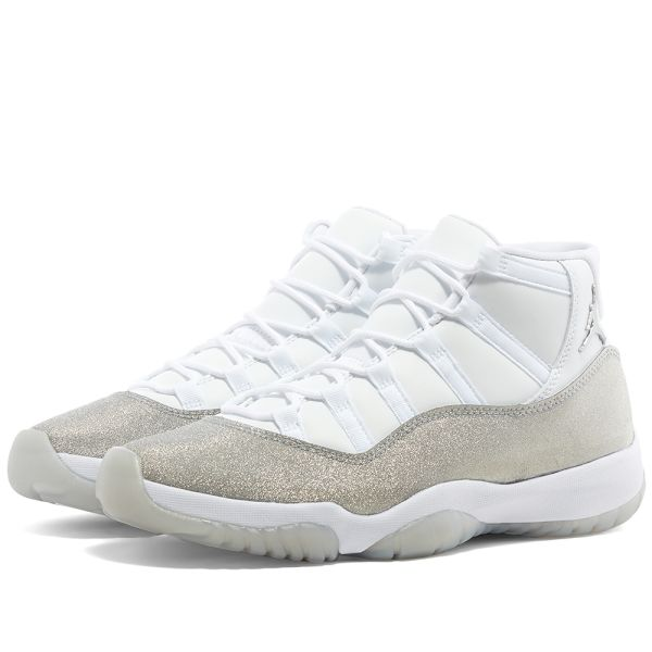 Air Jordan 11 W White, Silver \u0026 Grey | END.