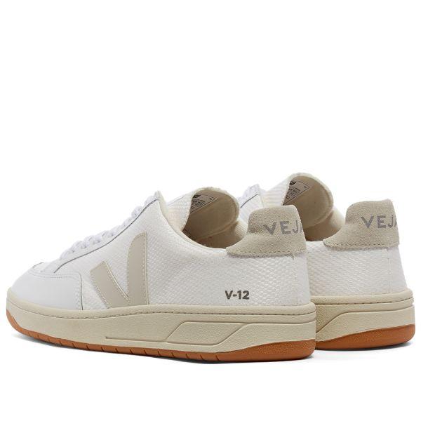 Veja V-12 Mesh Sneaker White \u0026 Natural