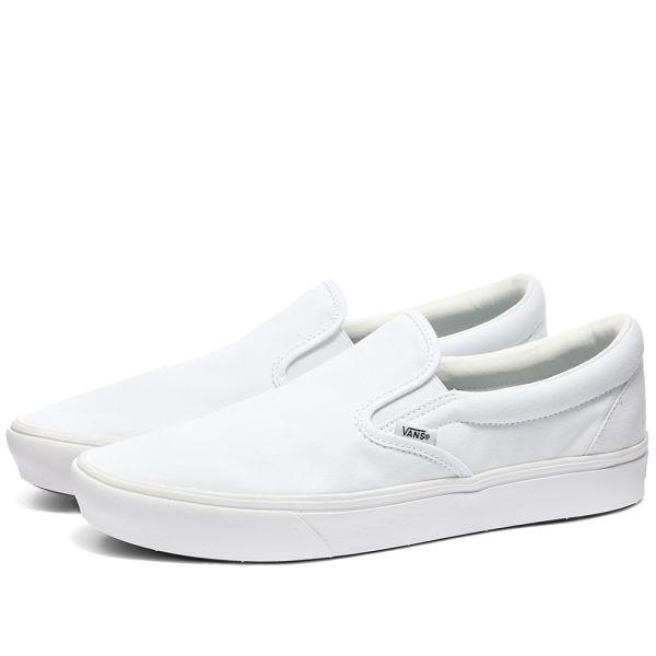 Vans UA ComfyCush Slip On True White | END.
