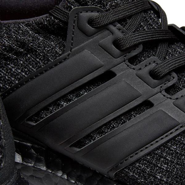 adidas ultra boost core black gold metallic