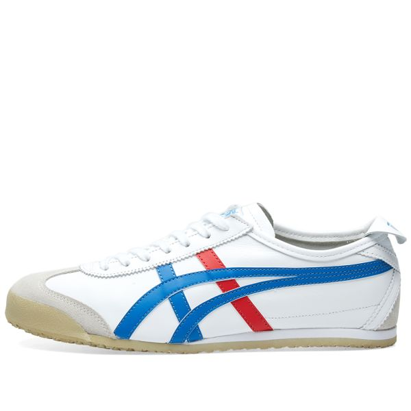 onitsuka tiger mexico 66 white red blue jean