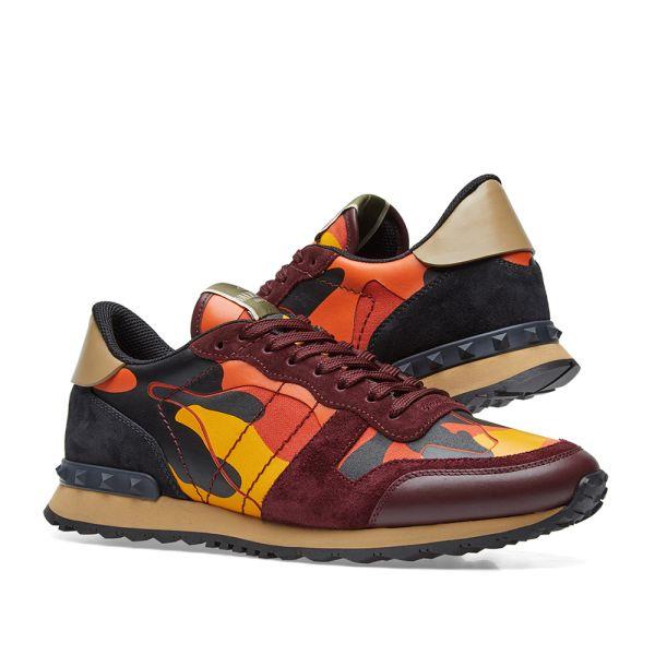Valentino Rockrunner Sneaker Orange | END.