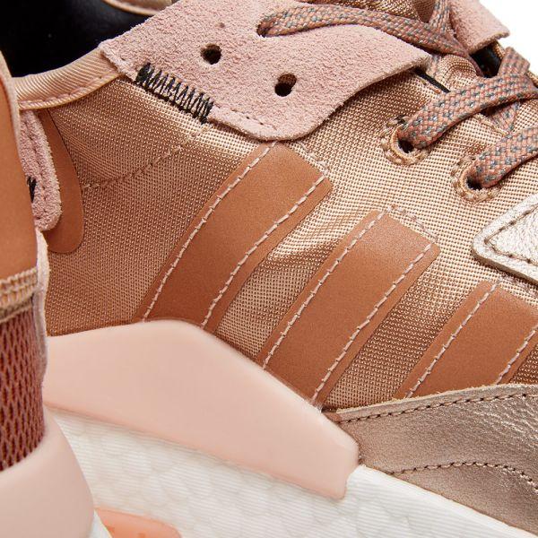 adidas nite jogger w rose gold metallic