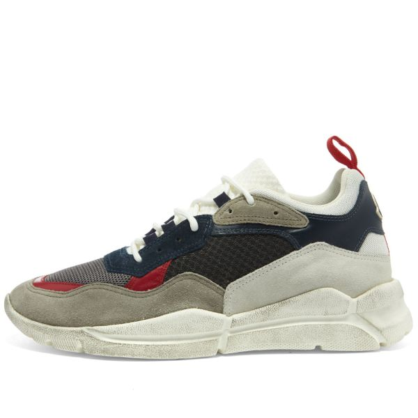 Moncler Calum Mesh Sneaker Grey, White