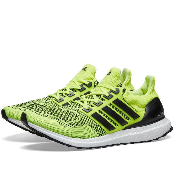 nueva alta calidad selección asombrosa lista nueva Adidas Ultraboost 1.0 Solar Yellow & Black | END.