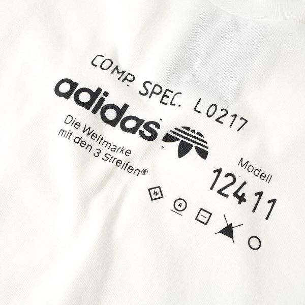 Adidas Originals by Alexander Wang Graphic Tee Core White | END.