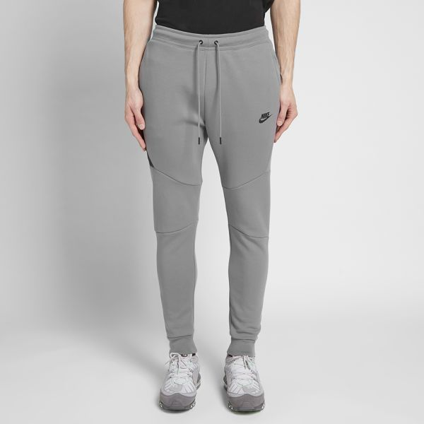 nike fleece tracksuit grey