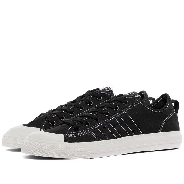 Adidas Nizza RF Black \u0026 Off White | END.