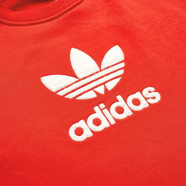 adidas red sweat