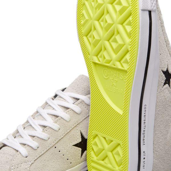 Fragment Design x One Star 74 'Grey' Converse 153130C | GOAT