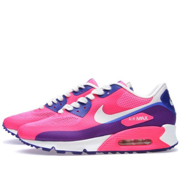Nike Air Max 90 2013 Women's Shoes Pink Flash Sail Pink