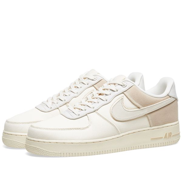 Nike Air Force 1 PRM Pale Ivory CI1116 100 Release Date SBD