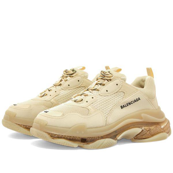 balenciaga beige sneakers