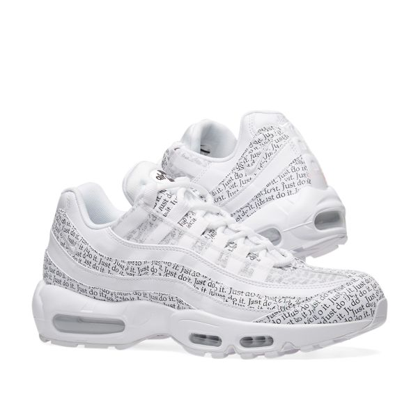 nike air max 95 just do it white