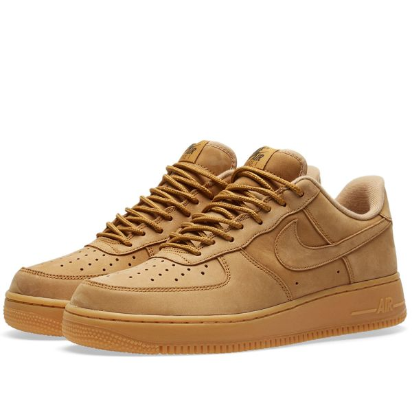 air force 1 light brown
