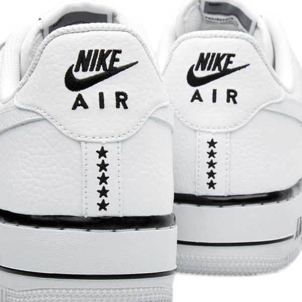 NIKE Air Force 1 Low White with Black Foxing Stripe | SOLETOPIA