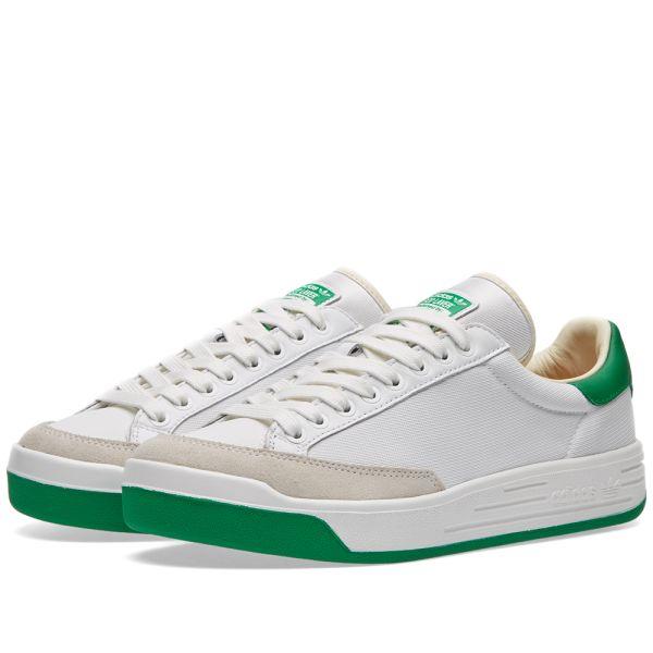 Adidas Rod Laver Tennis Shoes WhiteGreen, 9