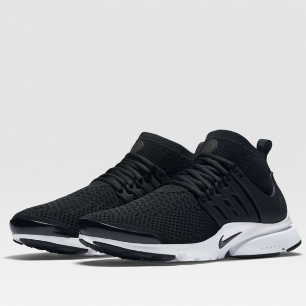 Nike Air Presto Flyknit Ultra Black White Running Shoes Sneakers 835570 001