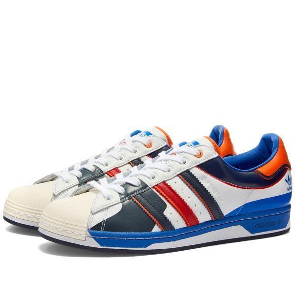 Adidas Superstar 50 White, Blue