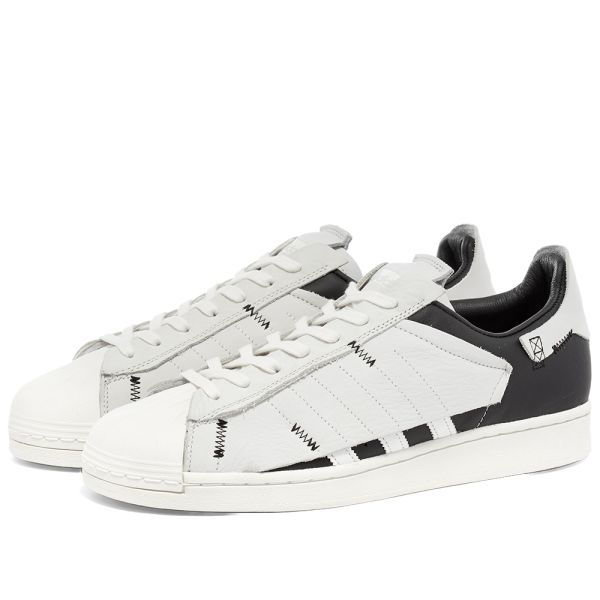 Adidas Superstar Adidas Superstar Reverse White, Core Black & Off White | END.