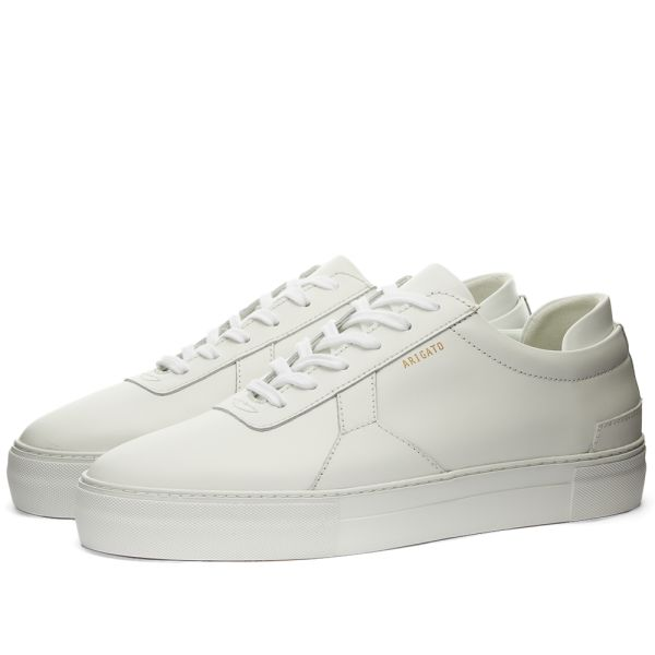 white leather sneakers platform