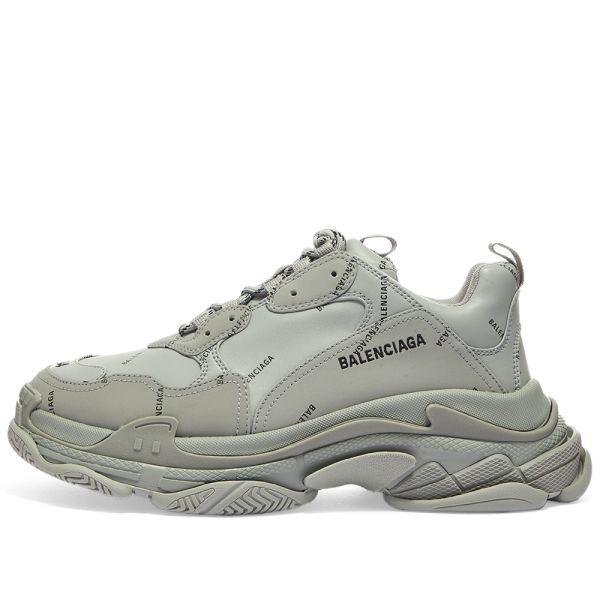 Logo Triple S Sneaker Grey \u0026 Black