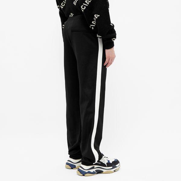 Balenciaga Taped Track Pant Black