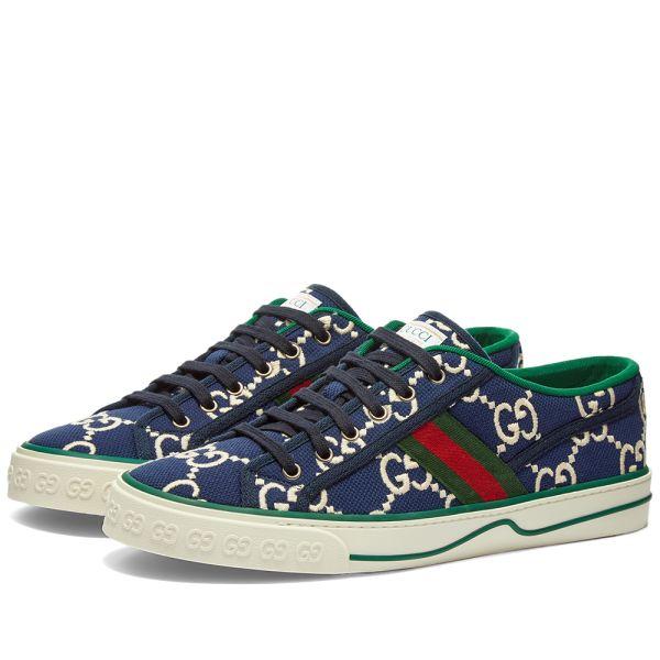 Gucci Tennis 1977 Sneaker Blue \u0026 White