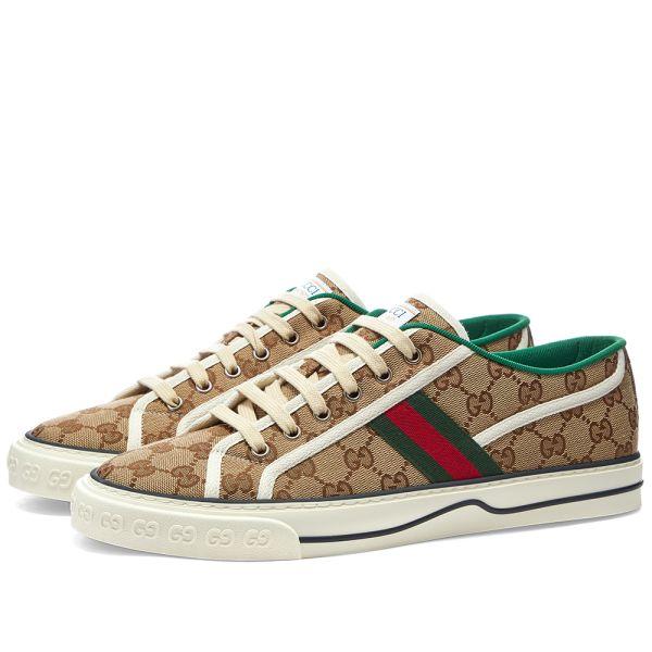 Gucci Tennis 1977 Sneaker Beige | END.