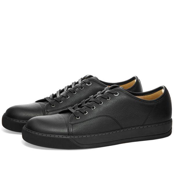 Lanvin DBB1 Leather Toe Cap Sneaker