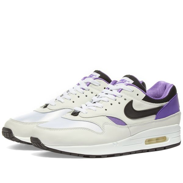 purple black and white nike air max