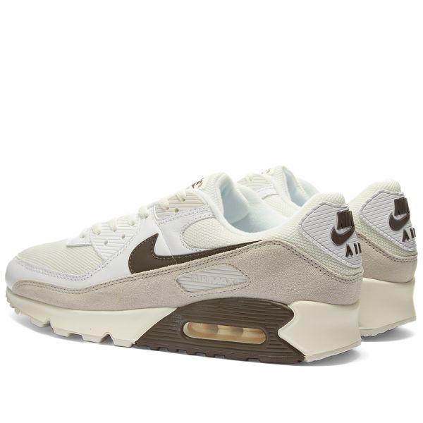 Womens Brown & Black & Sail Nike Air Max 90 LX Shoe