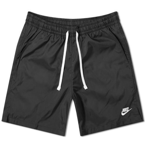 sitio web para descuento gran venta duradero en uso Nike Retro Woven Short Black & White   END.