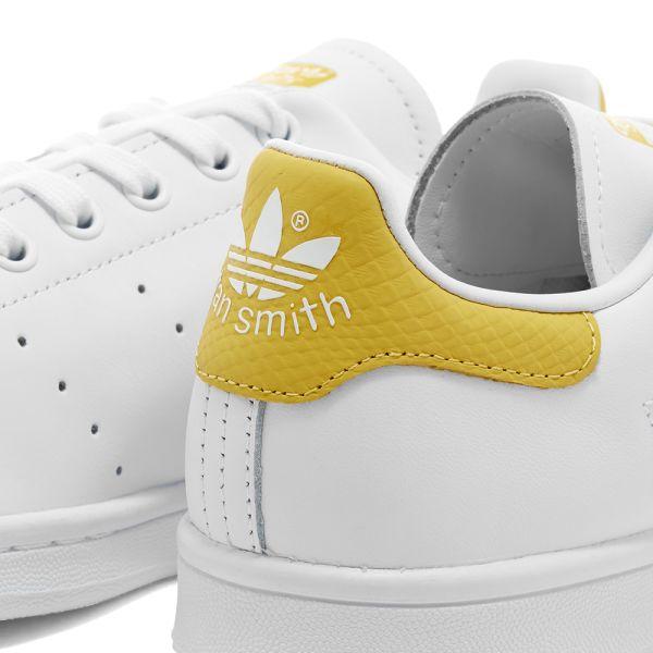 Adidas Stan Smith W White \u0026 Core Yellow