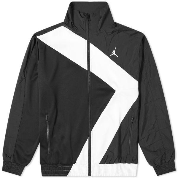 Air Jordan Diamond Jacket Black \u0026 White