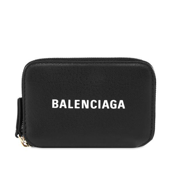 Balenciaga Everyday Zip Wallet Black