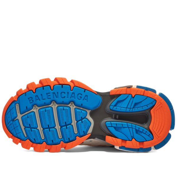 BALENCiAGA TRACK TRAiNERS Low Top Sneakers Orange