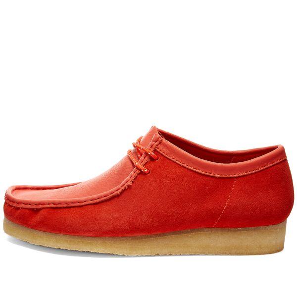 Clarks Originals Wallabee Red Combi