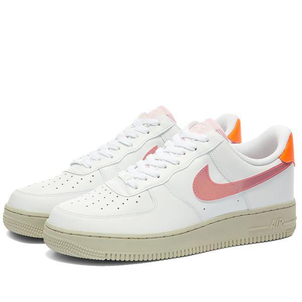 Nike Air Force 1 07 W White \u0026 Pink | END.