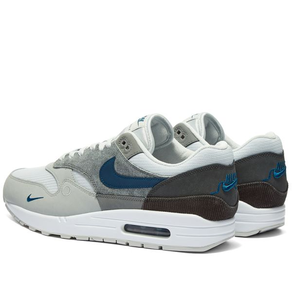 Nike Air Max 1 London Grey Valerian Blue End