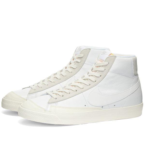 blazer white nike