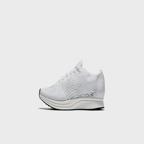 Off White x Nike Flyknit Racer White For Sale