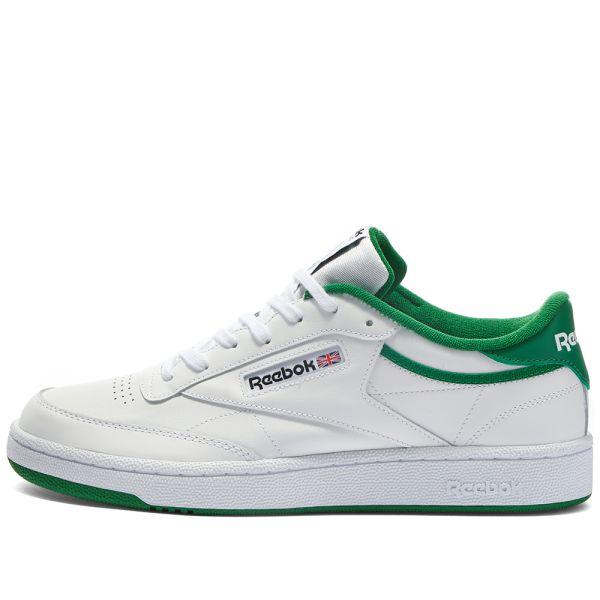 Reebok Club C White \u0026 Green | END.