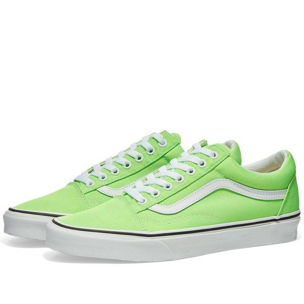 Vans UA Old Skool Green Gecko \u0026 True