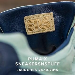 Puma x Sneakersnstuff